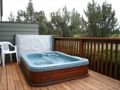 Or Enjoy the Hot Tub