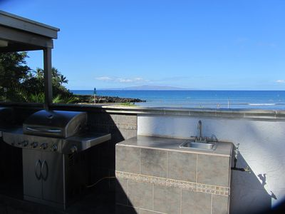 Pool/ Ocean side BBQs and sink