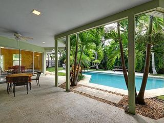 Delray Beach house photo - Lanai off of Pool Courtyard