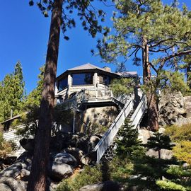 "Brockway house rental - A once-in-a-lifetime Lake Tahoe getaway awaits you at ""The Rockpile,"" an extraordinary Kings Beach vacation rental house!"