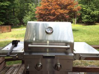 Woodstock house photo - A new grill