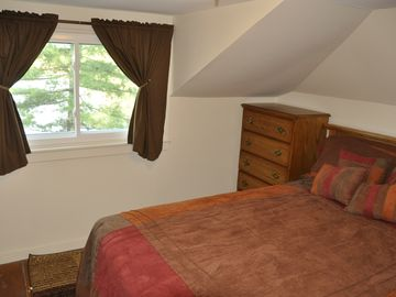 Second Bedroom Overlooking the Lake.