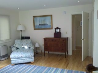 Christmas Cove house photo - .1st floor master bedroom sitting area. Brand new king-sized bed behind.