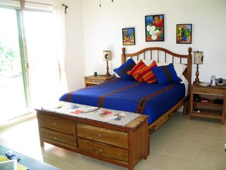 Tulum condo photo - Three bedrooms, 2 queen beds and two individual beds. Perfect for six.