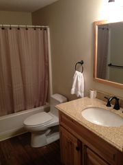 Jay Peak condo photo - Brand new bathroom with sweet flooring, granite, TOTO toilet, oil rubbed bronze