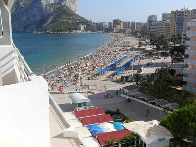 Calpe - Luxurious apartment - 4 rooms + 2 bathroom + 2 terraces + Facing the bea