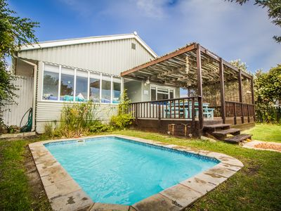 Gone to the Beach Villa for 9 guests 50 m from beach in Scarborough, Cape Town