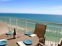 14th floor E, CORNER Unit, 3BR/3.5BA + Den w/Beach Svc. Beautifully decorated!!