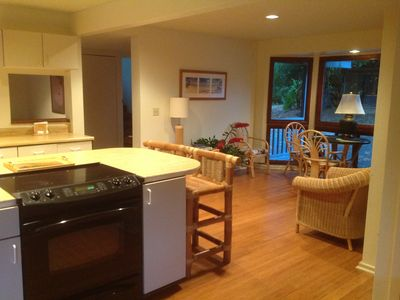 Waikane estate rental - .Kitchen seating