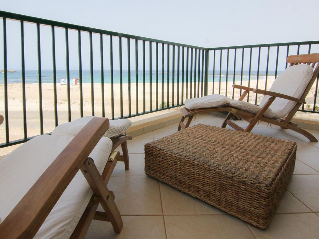 Beautiful apartment with pool, facing the sea, Sal Rei, Boavista