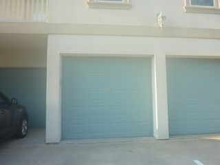 South Padre Island condo photo - To keep your car cool and belongings safe; 1 car garage available for rent