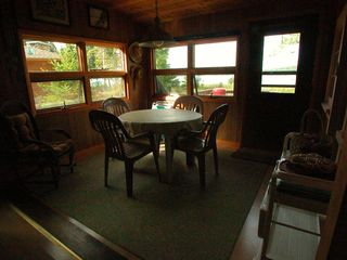 Frankfort cottage photo - Eating Area with Lake View