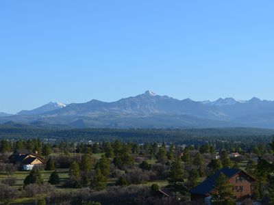 Pagosa Peak from the back deck