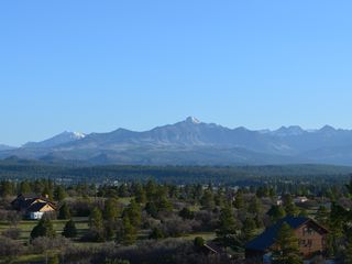 Pagosa Springs house photo - Pagosa Peak from the back deck