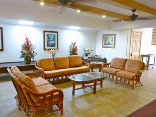 Lahaina condo photo - Airy lobby invites breezes and conversation