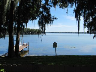 Altamonte Springs townhome photo - Your private boat dock right out your patio door!