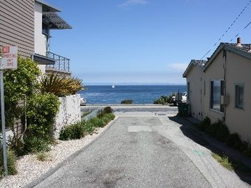 Ocean access is just around the corner. This view is 25 steps from house