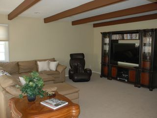 Oxnard house photo - Large family room with DVD library, massage chair and flat screen tv