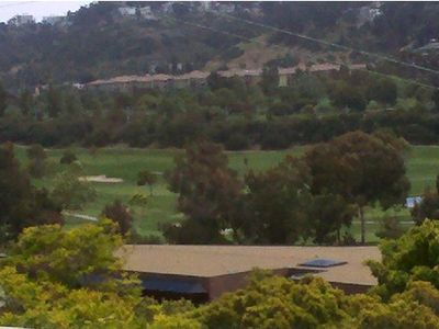 Mission Valley golf course view from front door entry