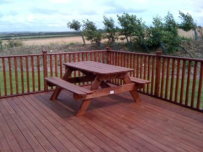 Spacious Decking Area