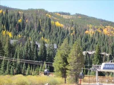 Come stay in fall and see the colors!  Low rates and no crowds!