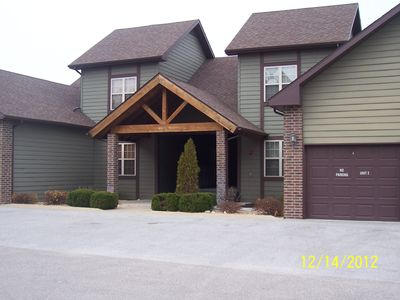 Branson West villa rental - The front of our villa/condo