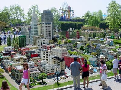 Legoland in Carlsbad is about 40 minutes from Headlands Hideaway
