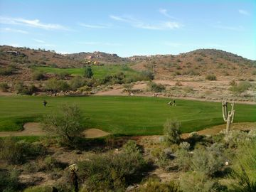 Fountain Hills condo rental - 180 degree views from the backyard to die for