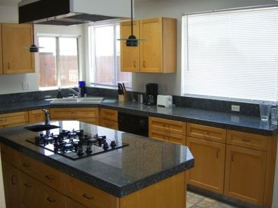 Newly-renovated kitchen
