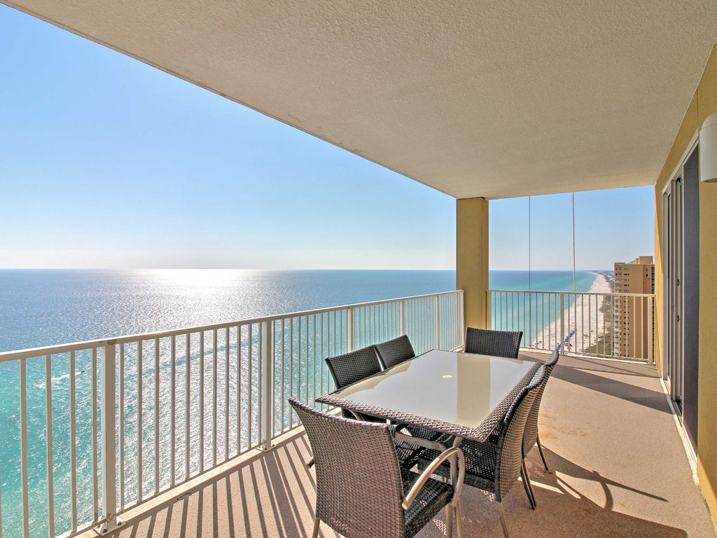 New 2br Beachfront Panama City Beach Condo Vrbo
