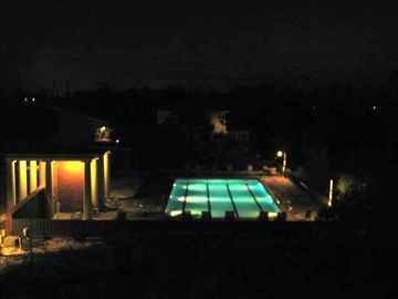 Night Pool View From Master