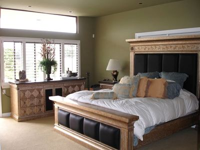 Monarch Beach house rental - Beautiful Furniture in all Rooms. Master room with office-bathroom suite.
