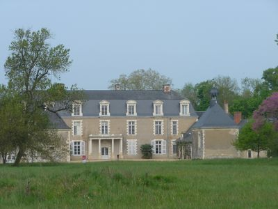 Wing for 10/12 people in the Château du Plessis Mayor