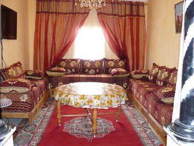 Appart any comfort near the Taourirt Kasbah in Ouarzazate desert door