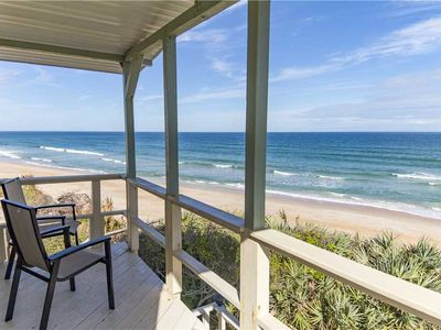 You'll love our ocean-front Flagler Oasis Beach House! - With our Flagler Oasis Beach House, you can wake up each morning and step out onto our ocean-front balcony. Take in the spectacular views and get each day of your Florida beach vacation off to an awesome start!