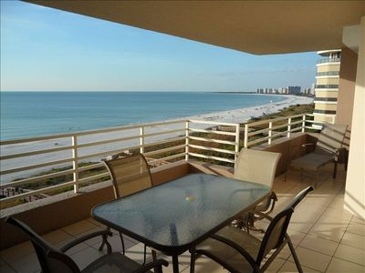 Marco Island Beach Front Condo With West Views Of Sunsets