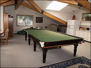 Beaver Creek house photo - Loft Rec Room with Snooker Table, Foosball, Kitchenette, TV