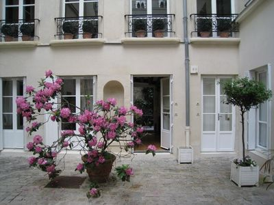 6th Arrondissement St Germain des Pres apartment rental - the entrance of the studio