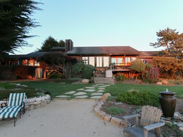 La Selva Beach house rental - Crest Bayview Lodge! Newly landscaped!