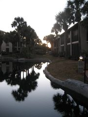 St. Augustine Beach condo photo - Evening in Village Las Palmas