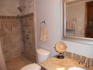 Durango condo photo - Master Bath just remodeled with 6 shower heads, heated towel rack.