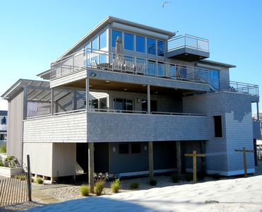 Luxury Oceanfront Home only steps from beautiful white sandy beach