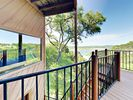 Deck - Enjoy expansive views of the lake from the deck.