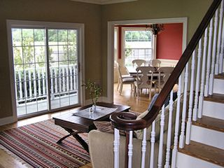 Cape Charles house photo - Living Room & Dining Room From Entry