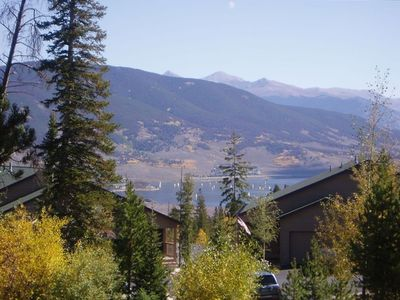 VIEW OF LAKE DILLON FROM PATIO