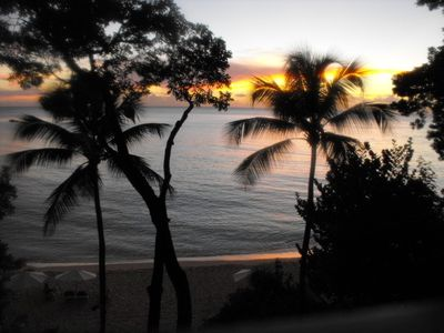 Paynes Bay apartment rental - Watching the sun go down (guests photograph)
