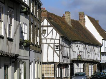 Strand Street, one of the best medieval streets anywhere in Britain.