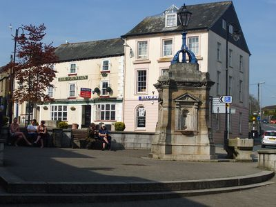 The nearest local town, Liskeard