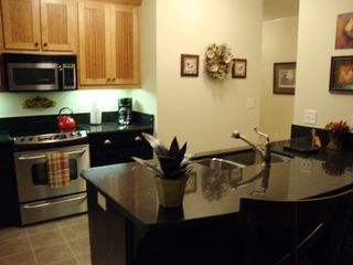 Hiawassee condo photo - Kitchen from Dining Room
