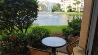 LUXURY FURNISHED CONDO with BEAUTIFUL LAKE and WATERFOUNTAIN VIEW